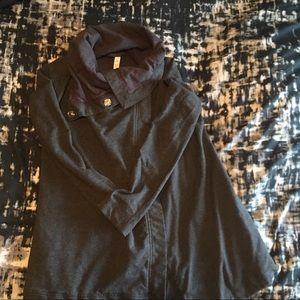 Dark Grey Lululemon Savasana Wrap Size 4